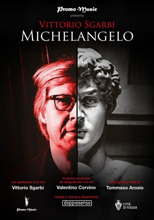 "VITTORIO SGARBI ""Michelangelo"""